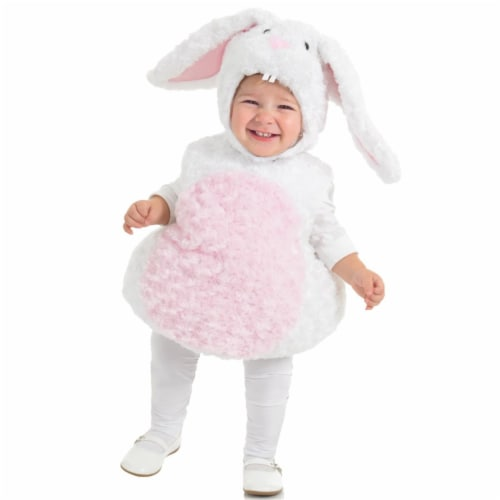 Morris Costumes UR25820TXS Rabbit Toddler Costume, 6-12 Months Perspective: front