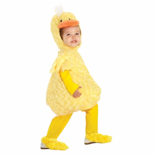 Morris Costumes UR25967TSM Toddler Duck Costume, 12-18 Months Perspective: front