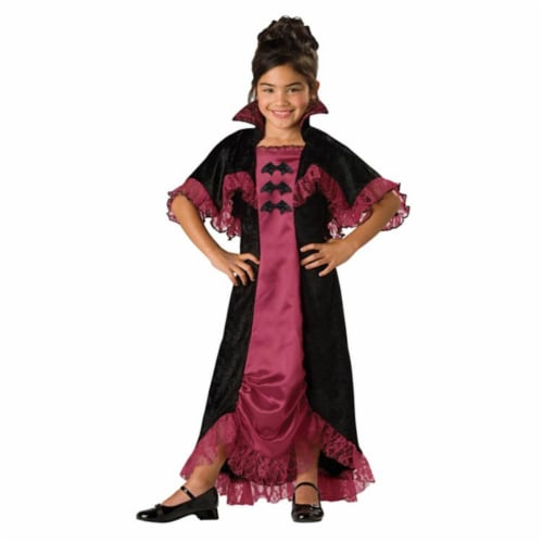 Costumes For All Occasions IC17004C8 Midnight Vampiress 2B Child 8 Perspective: front