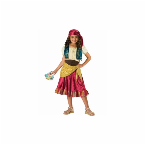 Incharacter Costumes IC17022-S Girls Gypsy Costume SMALL Perspective: front