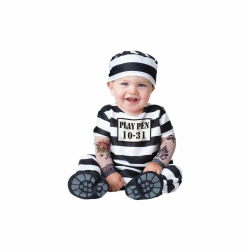 Costumes For All Occasions IC16015TS Time Out Toddler Sm 12-18M Perspective: front