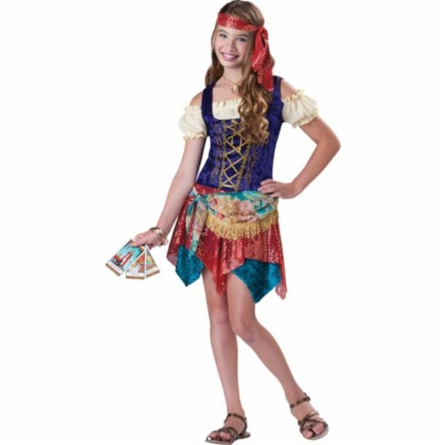 Costumes For All Occasions IC18035SM Gypsys Spell Small 8-10 Perspective: front