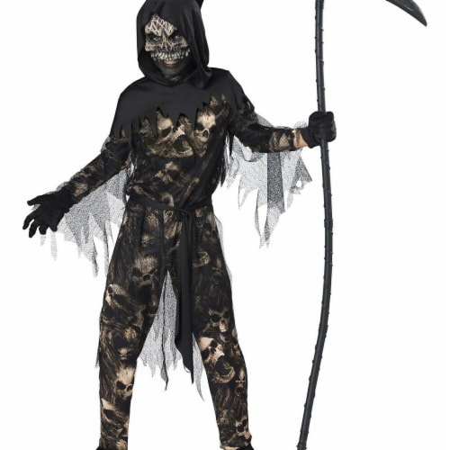 InCharacter 276563 Halloween Reaper Boys Costume - Medium Perspective: front