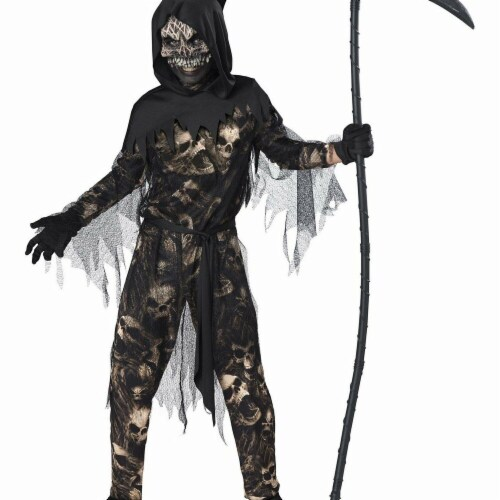 InCharacter 276564 Halloween Reaper Boys Costume - Large Perspective: front