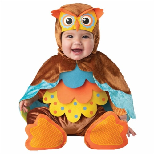 Morris Costumes ICCK16089TL Hootie Cutie Toddler Costume, 18-24 Months Perspective: front