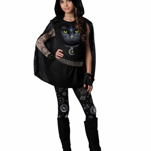 In Character 403535 Girls Covens Rebel Costume - Large Perspective: front