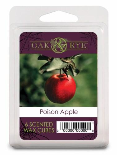 Oak & Rye™ Poison Apple Scented Wax Cubes Perspective: front