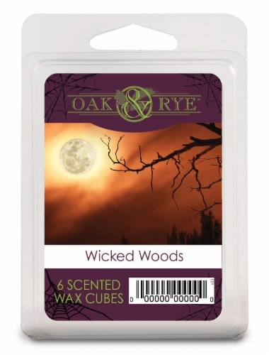 Oak & Rye™ Wicked Woods Scented Wax Cubes Perspective: front