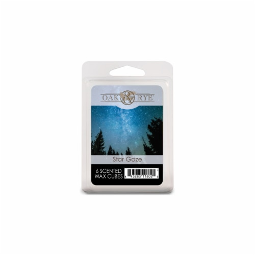 Oak & Rye Star Gaze Scented Wax Cubes Perspective: front