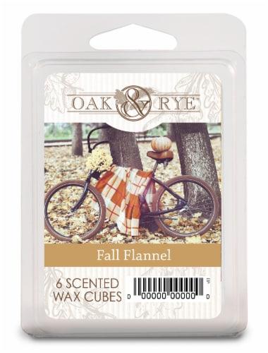 Oak & Rye™ Wax Cube - Fall Flannel Perspective: front