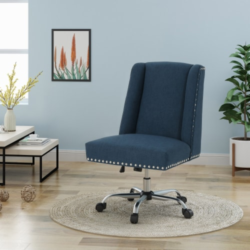 Quentin Home Office Fabric Desk Chair Perspective: front