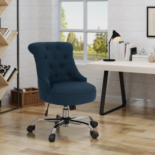Tyesha Home Office Fabric Desk Chair Perspective: front
