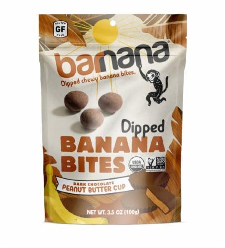 Barnana Peanut Butter Cup Banana Bites Perspective: front