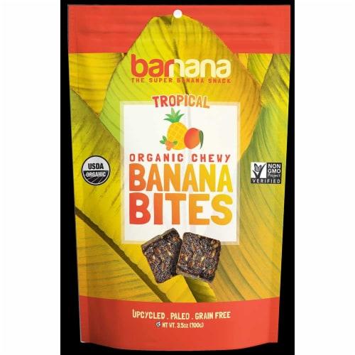 Barnana Tropical Banana Bites, 3.5 Ounce -- 12 per case. Perspective: front
