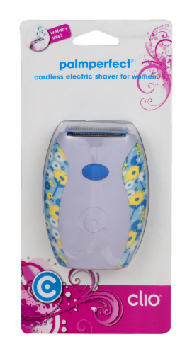 Clio Palmperfect Women's Cordless Shaver Perspective: front
