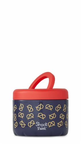 S'nack by S'well Pretzels Vacuum-Insulated Stainless Steel Food Container Perspective: front