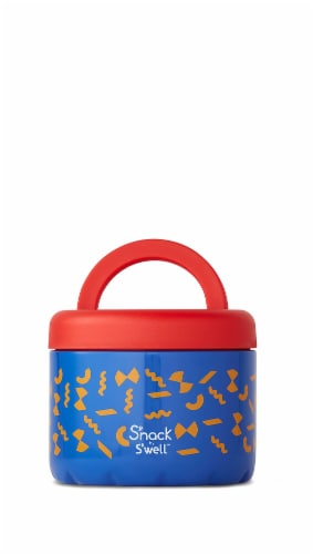 S'nack by S'well Pasta Vacuum-Insulated Stainless Steel Food Container Perspective: front