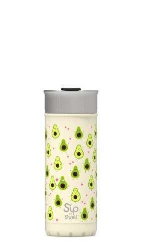 S'ip by S'well Avo-Cuddles Vacuum-Insulated Stainless Steel Travel Mug Perspective: front