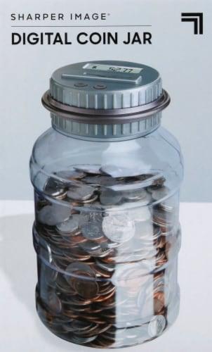 Sharper Image Digital Coin Jar Perspective: front