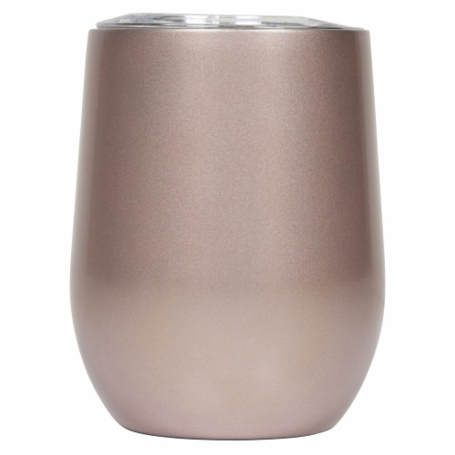 Seven Fifty  Wine Tumbler - Rose Gold Perspective: front