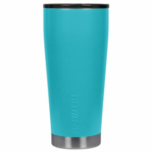 Icy-Hot Hydration 20 oz Aqua Vacuum-Insulated Tumbler with Smoke Cap Perspective: front