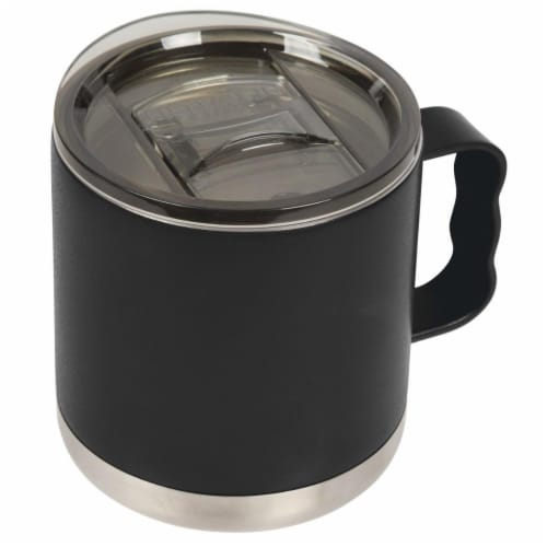 Icy-Hot Hydration T15000003 15 oz Double-Wall Vacuum Insulated Camp Mugs with Slide Lid, Matt Perspective: front