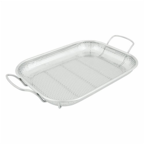 Grill Mark 98190 15 x 11 in. Grilling Basket Perspective: front