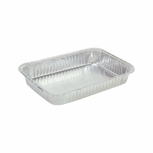 Grillmark 16412 Foil Drip Aluminum Pan - pack of 5 Perspective: front