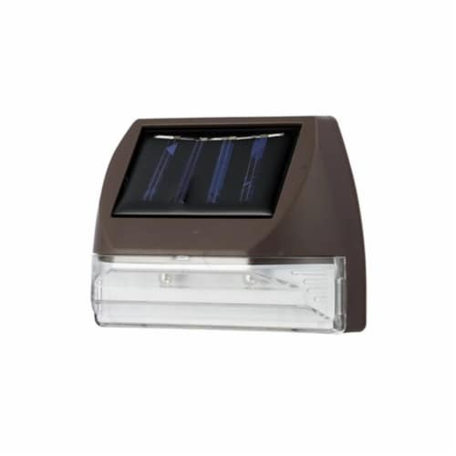 Living Accents Bronze Solar Powered LED Stair Light 1 pk - Case Of: 24 Perspective: front