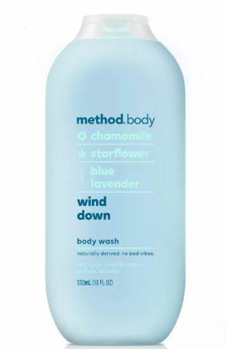 Method Wind Down Body Wash Perspective: front