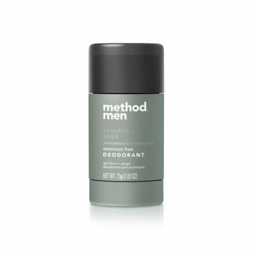 Method Men Juniper + Sage Aluminum Free Deodorant Perspective: front