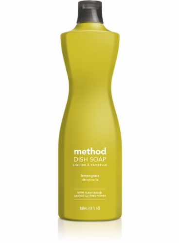 Method Lemongrass Dish Soap Perspective: front