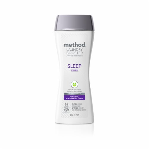 Method Sleep Laundry Booster Perspective: front