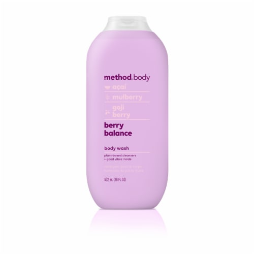 Method Body Berry Balance Body Wash Perspective: front