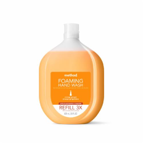 Method Orange Ginger Foaming Handwash Refill Perspective: front