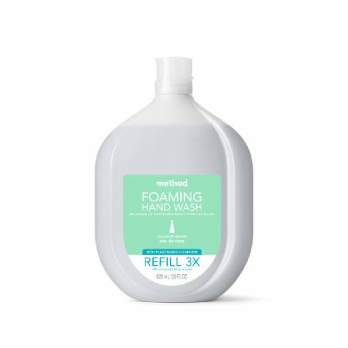 Method Coconut Water Foaming Handwash Refill Perspective: front