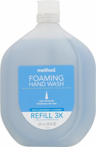 Method Sea Minerals Foaming Hand Wash Refill Perspective: front