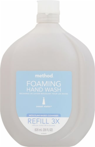 Method Sweet Water Foaming Hand Wash Refill Perspective: front