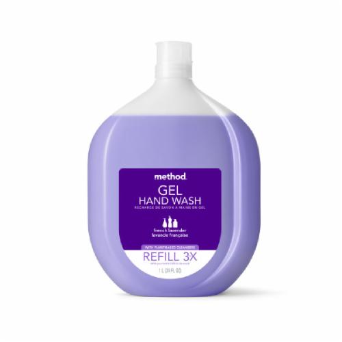 Method French Lavender Gel Handwash Refill Perspective: front