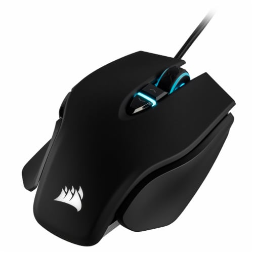 Corsair M65 RGB ELITE Tunable FPS Gaming Mouse - Black Perspective: front