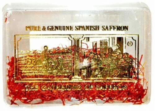 The Gathering Brand Pure Spanish Saffron Perspective: front
