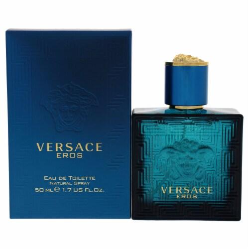 Versace Versace Eros EDT Spray 1.7 oz Perspective: front