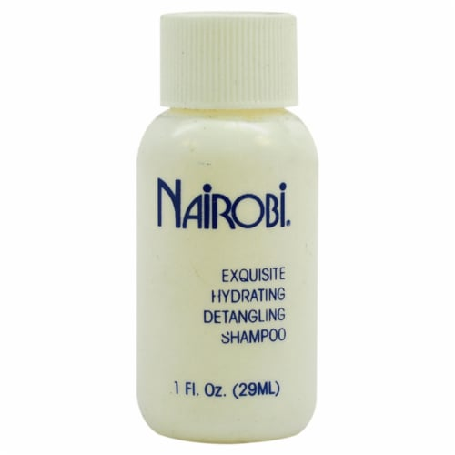 Exquisite Hydrating Detangling Shampoo by Nairobi for Unisex - 1 oz Shampoo Perspective: front