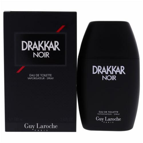 Guy Laroche Drakkar Noir EDT Spray 3.4 oz Perspective: front