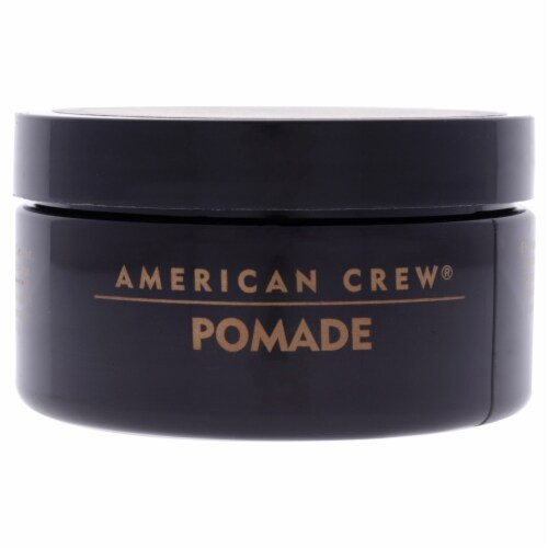 Pomade for Hold Shine by American Crew for Men - 3 oz Pomade Perspective: front