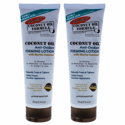 Palmers Coconut Oil AntiOxidant Firming Lotion  Pack of 2 Body Lotion 8.5 oz Perspective: front