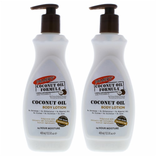 Palmers Coconut Oil Body Lotion  Pack of 2 13.5 oz Perspective: front