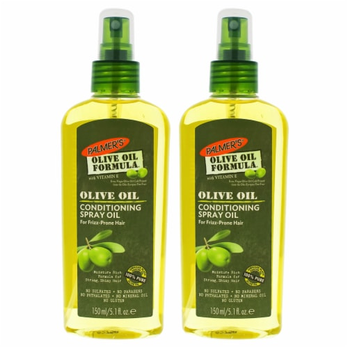 Palmers Olive Oil Conditioning Spray Oil  Pack of 2 Hairspray 5.1 oz Perspective: front