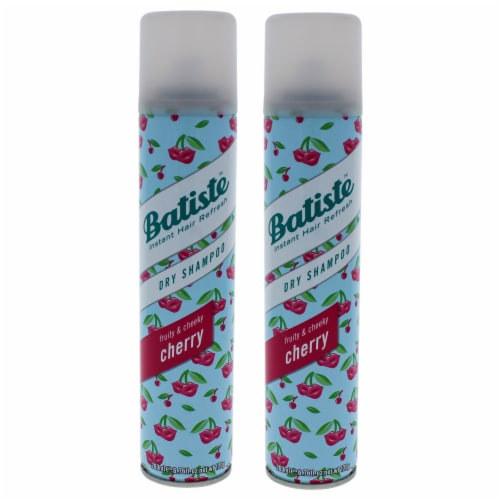 Batiste Dry Shampoo  Fruity and Cheeky Cherry  Pack of 2 6.73 oz Perspective: front