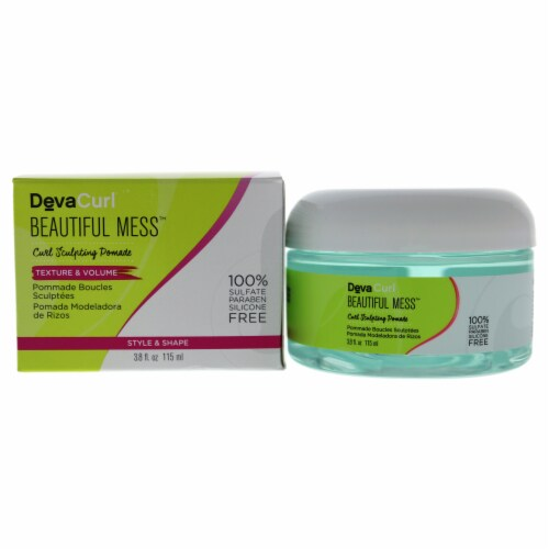 Beautiful Mess Curl Sculpting Pomade by DevaCurl for Women - 4.2 oz Pomade Perspective: front